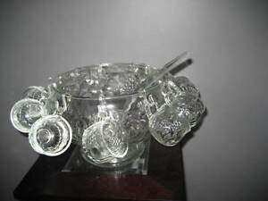 PUNCH BOWL &  & 12 CUPS - new price