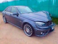 2011 MERCEDES C63 AMG 6.3 SALVAGE DAMAGED (CAT D) 1 COMPANY OWNER FROM NEW