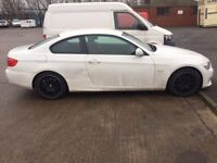 Damaged Repairable BMW 320D WHITE