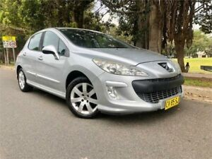 2010 Peugeot 308 XSE Turbo Silver 5 Speed Manual Hatchback Strathfield Strathfield Area Preview