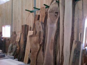 Kiln Dried Live Edge & Hardwood Lumber Sales