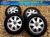 GENUINE ~ FORD ALLOY WHEELS ~ PCD 5X108 ~ Fits: Focus, Connect Van, Mondeo