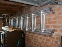 Ladder tipple run aluminium light use