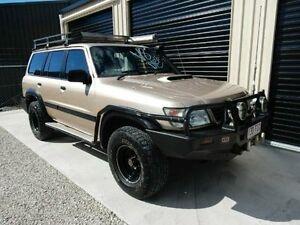 1999 Nissan Patrol GU ST Gold 5 Speed Manual Wagon Kippa-ring Redcliffe Area Preview