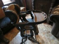 ANTIQUE VICTORIAN HIGHCHAIR