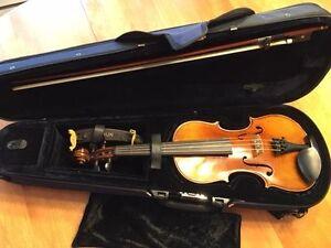 Violon 3/4 qualité supérieur, modèle Stradivarius