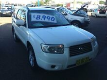 2006 Subaru Forester MY06 XS White 4 Speed Auto Elec Sportshift Wagon Broadmeadow Newcastle Area Preview