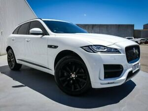 2017 Jaguar F-PACE X761 MY18 20d AWD R-Sport White 8 Speed Sports Automatic Wagon Canning Vale Canning Area Preview