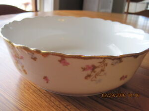 Vtg LIMOGES Bowl Elite Works France
