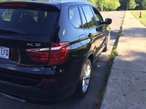2013 BMW X3 VUS, 4 cyl turbo, Intégrale.