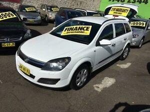 2006 Holden Astra AH MY07 CD White 4 Speed Automatic Wagon Lidcombe Auburn Area Preview