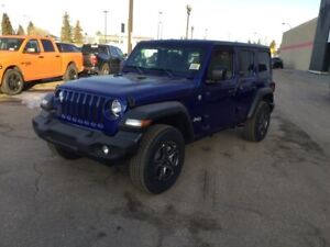 2019 Jeep Wrangler Unlimited SPORT                 5 INCH TOUCHS