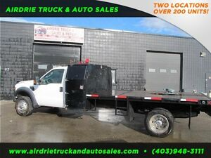 2009 Ford Super Duty F-550 DRW XLT 12' Flat Deck