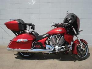 2012 Victory Cross Country Touring  Red