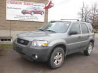2007 FORD ESCAPE LOADED, AUTO,POWER, 12M.WRTY,$5495