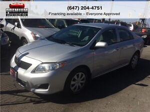 2010 Toyota Corolla Mint Condition! Low KM!