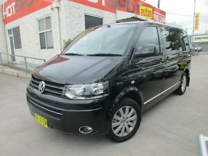 2010 Volkswagen Multivan T5 MY10 Highline Black 7 SPORTS AUTOMATIC DUAL CLUTCH Wagon North Parramatta Parramatta Area Preview