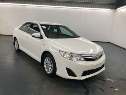 2015 Toyota Camry AVV50R Hybrid H Diamond White Continuous Variable Sedan Albion Brimbank Area Preview