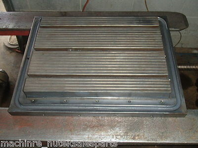 26 X 15.5 X 6 Steel Welding T-slotted Table Cast Iron Layout Plate Weld