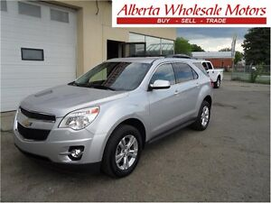 2013 CHEVROLET EQUINOX LT ALL WHEEL DRIVE WE FINANCE ALL Edmonton Edmonton Area image 1