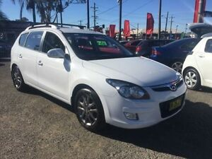 2011 Hyundai i30 FD MY11 CW SLX 2.0 White 4 Speed Automatic Wagon Lansvale Liverpool Area Preview