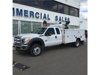 Brand New 2015 Ford Super Duty F-550 XLT 4x4 Service Truck