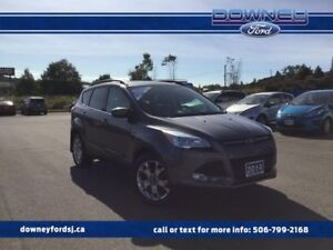 2014 Ford Escape SE 201A Leather Dual Temp Park Assist Pwr Drive
