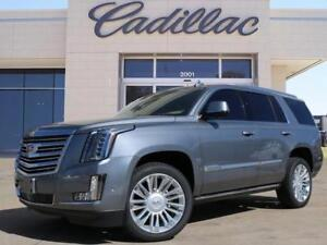 2018 Cadillac Escalade Platinum NEW satin steel color 0 %finance