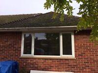 large double glazed upvc window