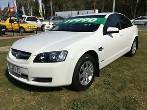 2010 Holden Commodore VE II Omega White 6 Speed Automatic Sedan Clontarf Redcliffe Area Preview