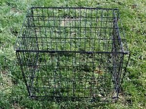 Dog Cage Black Wired