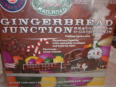 Lionel 6-30219 Gingerbread Junction Docksider Train Set 027 New 2013 Christmas