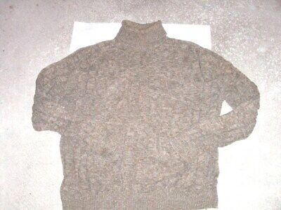 NAUTICA thick cotton turtleneck style Sweater men's XXL