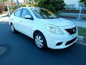 2013 Nissan Almera N17 ST White 4 Speed Automatic Sedan Kippa-ring Redcliffe Area Preview