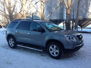 2008 GMC Acadia AWD. Only 3000 km on new engine