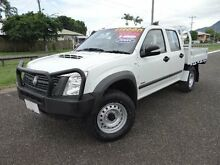 2008 Holden Rodeo RA MY08 LX (4x4) White 5 Speed Manual Crewcab Bungalow Cairns City Preview