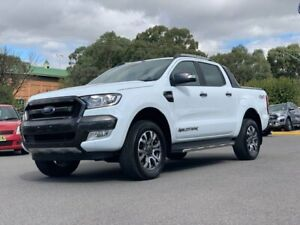 2017 Ford Ranger PX MkII 2018.00MY Wildtrak Double Cab White 6 Speed Sports Automatic Utility Goulburn Goulburn City Preview