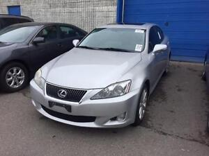 2009 LEXUS IS 250 AWD Back-Up Camera,Leather,Navigation, Sunroof