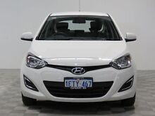 2015 Hyundai i20 PB MY14 Active White 4 Speed Automatic Hatchback Jandakot Cockburn Area Preview