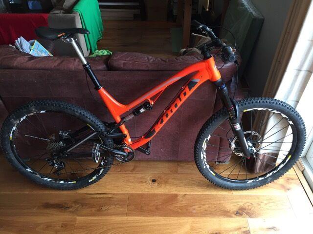 Kona Process 153 near new upgraded bike XL frame | in Redland ...