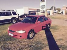 2000 Mitsubishi Lancer 105000km AUTO Red Automatic Hatchback Wangara Wanneroo Area Preview