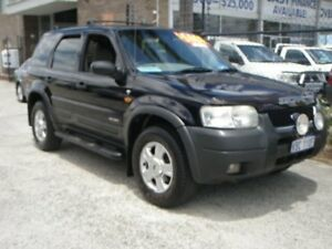 2002 Ford Escape BA XLT Black 4 Speed Automatic Wagon Wangara Wanneroo Area Preview