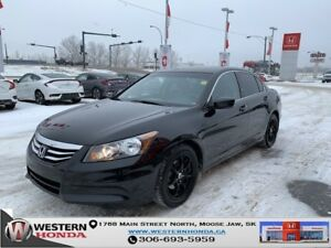 2012 Honda Accord Sedan EX-L- Leather, Sunroof, 2.4L VTEC!