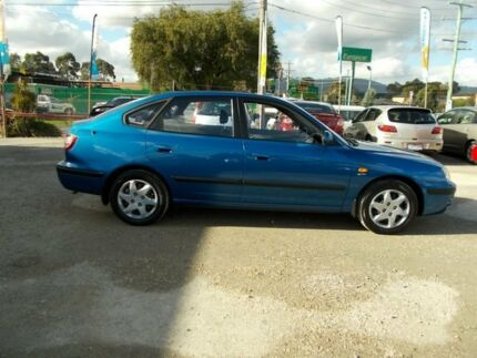 2006 Hyundai Elantra XD MY05 Blue 4 Speed Automatic Hatchback