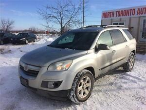 2008 SATURN OUTLOOK XE - VALID E TEST - AWD - SUNROOF - CLEAN