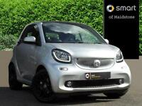 smart fortwo coupe PRIME PREMIUM PLUS (silver) 2017-05-31