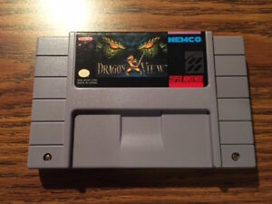 Dragon View Super Nintendo SNES - cart only, authentic, tested