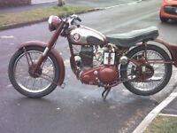 BSA C11 1954