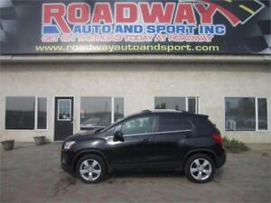 2013 Chevrolet Trax LTZ AWD  Leather   Sunroof   PST Paid