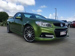 2015 Holden Ute VF MY15 SS V Ute Green 6 Speed Sports Automatic Utility Garbutt Townsville City Preview